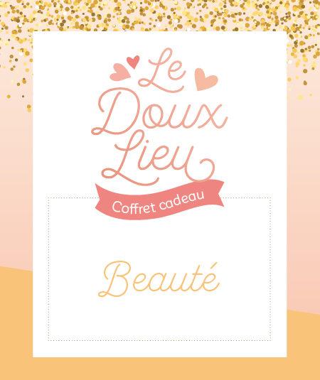 Coffret cadeau beauté Le Doux Lieu