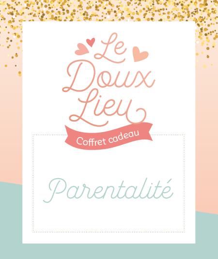 Coffret cadeau parentalité Le Doux Lieu