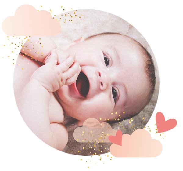 Atelier massage bébé, dès la naissance jusqu'à un an.