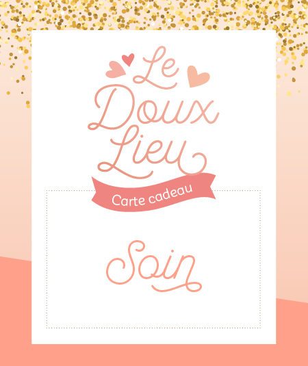 Carte cadeau Soin - Le Doux Lieu